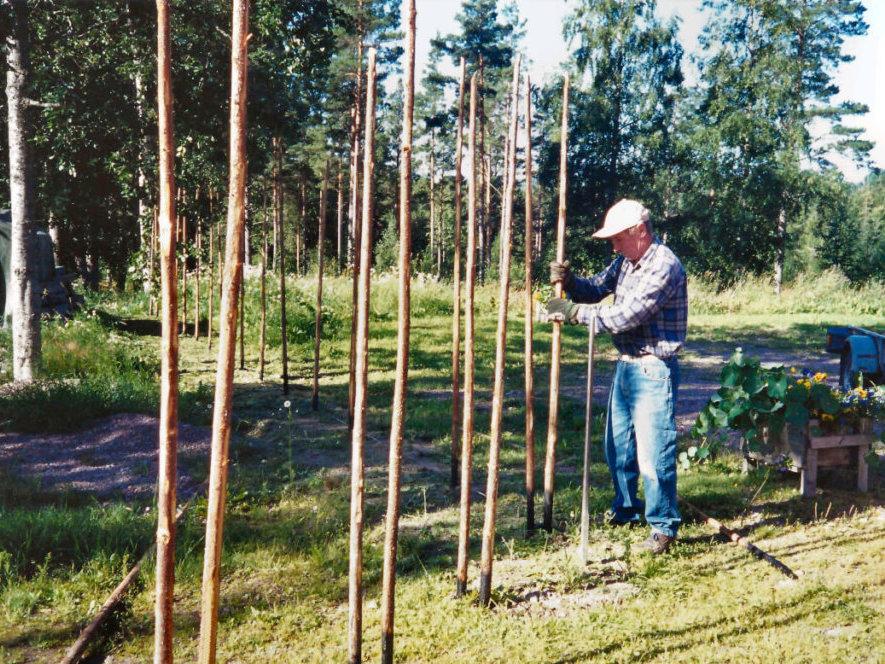 En äkta dala gärdsgård Ekgården