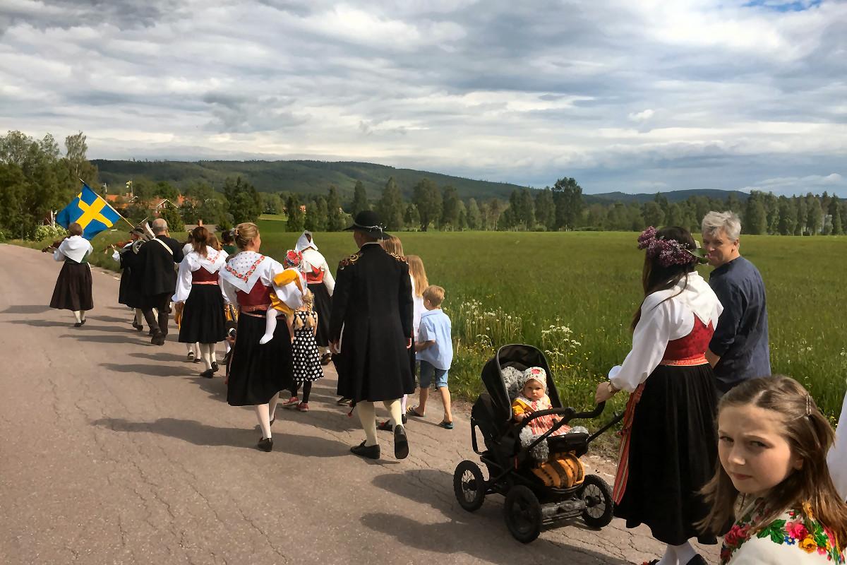 Midsommar i Rönnäsbyarna 2015