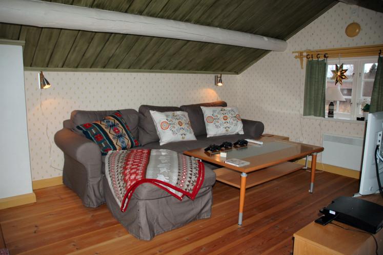Cosy sofa second floor guest lodge