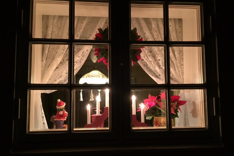 Window in guest lodge